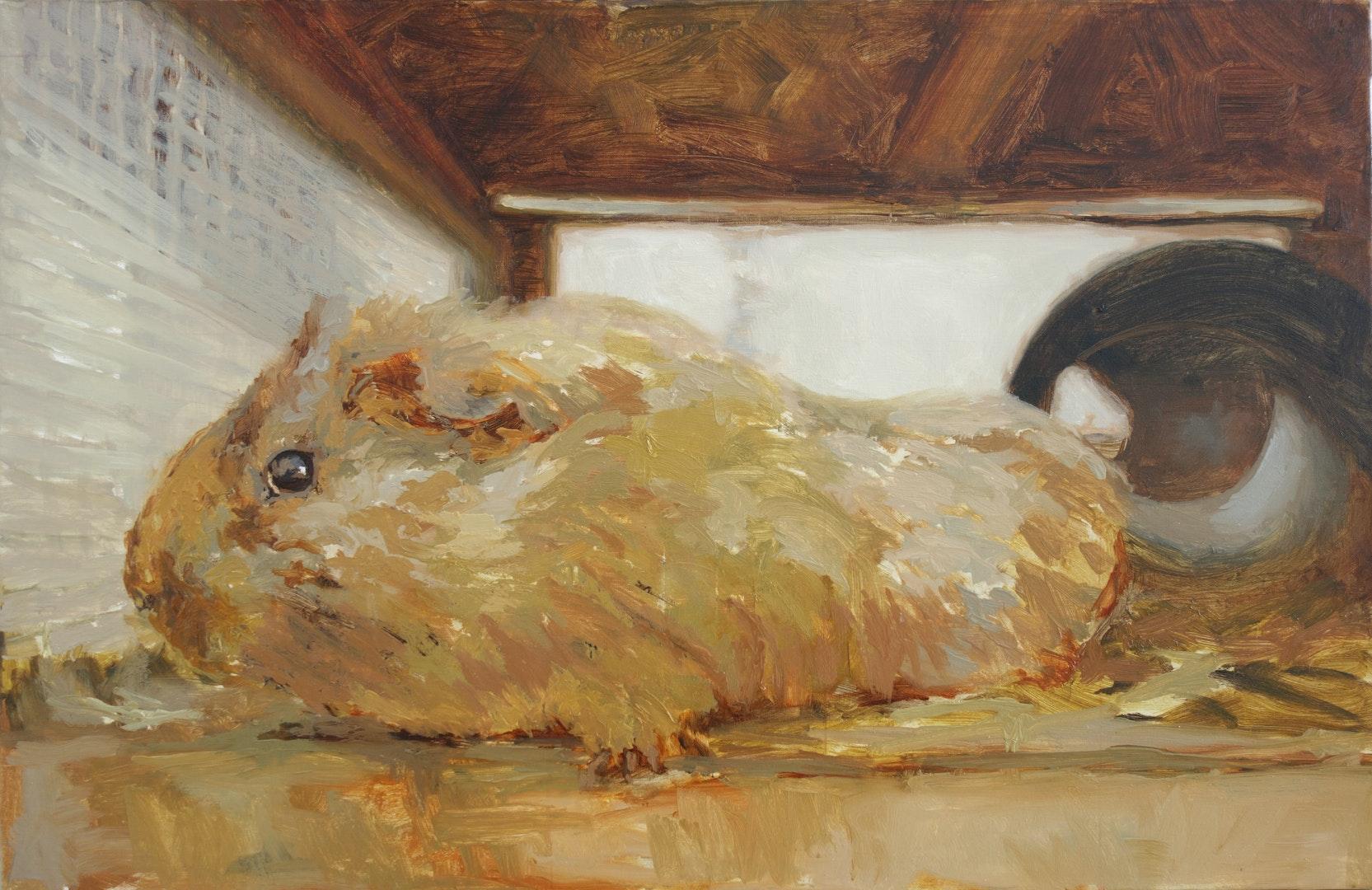 'Better', Ana del Valle Ojeda, Oil on canvas, 65 x 100 cm