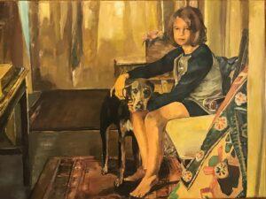 'Home in Autumn', Arienne Boley, Acrylic, 18 x 24 cm
