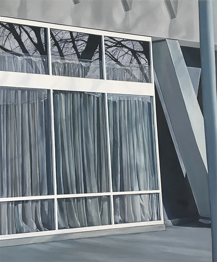 'Harbourside', Bianca MacCall, Oil on board, 60 x 50 cm