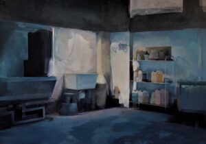 'Empty Space', Boris Garanger, Oil on canvas, 162 x 130 cm