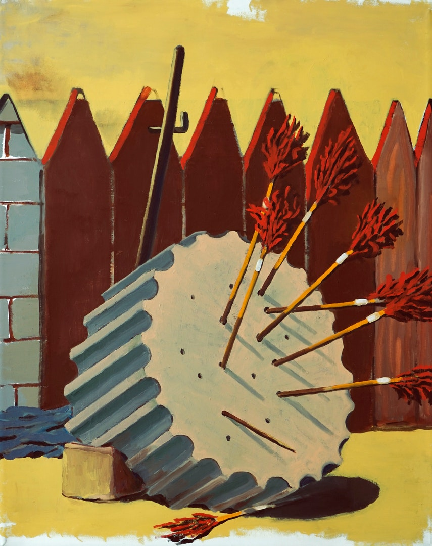 'The week', Bruno Di Lecce, Oil on canvas, 75 x 60 cm