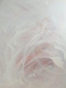 'Blood orange season', Catherine Chen, Acrylic on canvas, 150 x 115 cm