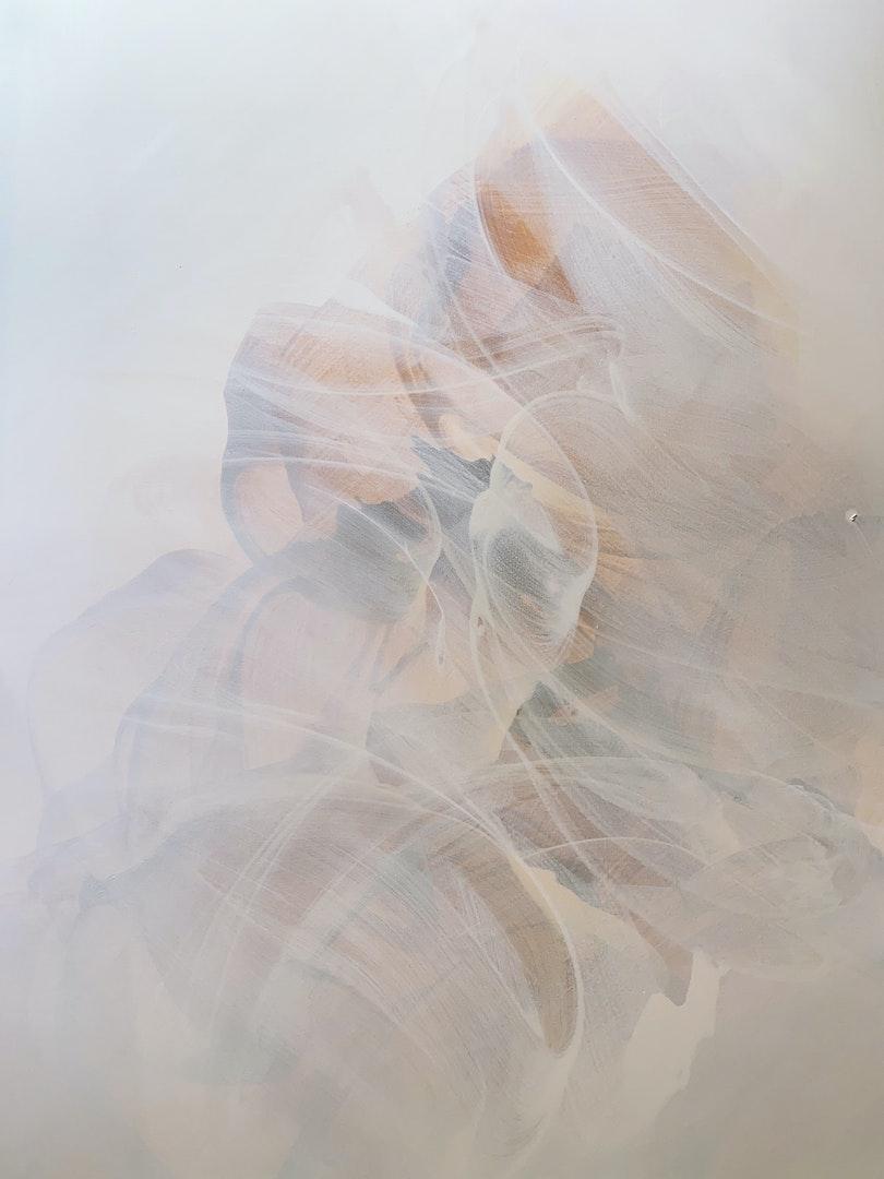 'Hopefully soon', Catherine Chen, Acrylic on canvas, 117 x 157 cm