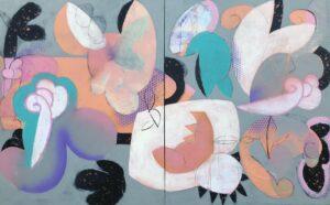 'Tumble Down', Charles Inge, Acrylic on canvas, 100 x 160 cm