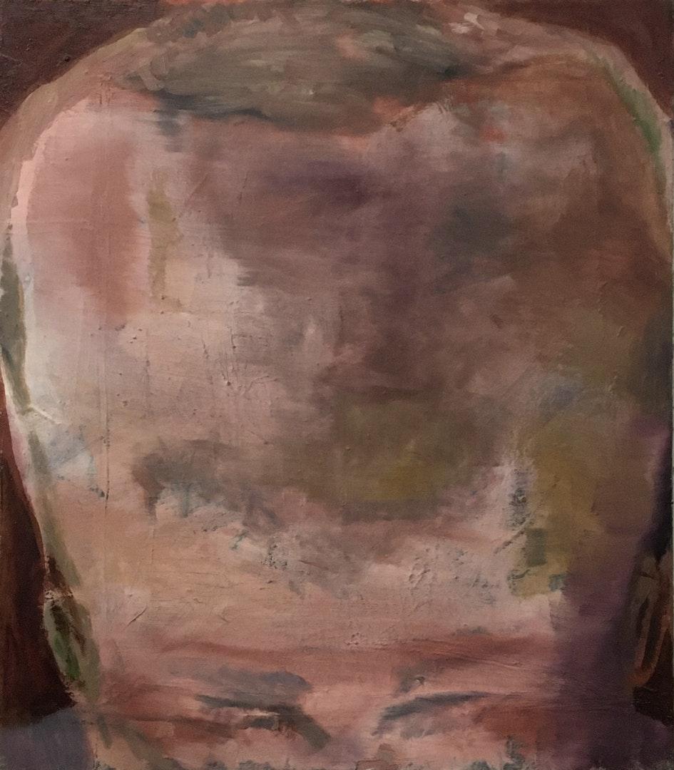 'Untitled (copy)', Diogo Guerra Pinto, Oil on linen, 80 x 70 cm