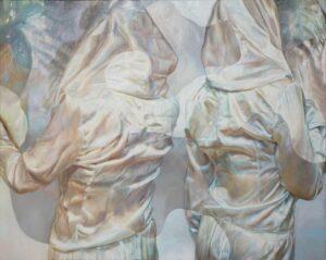 'Pearl 1', Dominika Hofman, Oil on canvas, 100 x 80 cm
