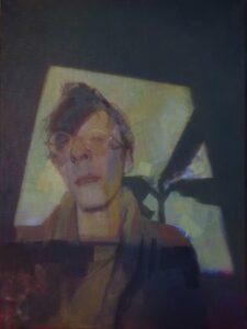 'Ignas', Gila Epshtein, Oil on canvas, 40 x 30 cm