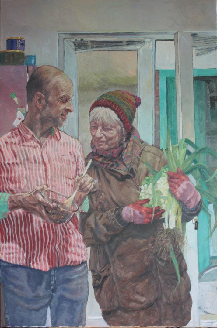 'Lockdown Fare', Howard Mason, Oil on canvas, 91 x 61 cm