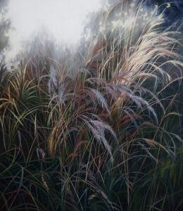 'Good enough', Ieva Kampe-Krumholca, Oil on linen, 150 x 130 cm