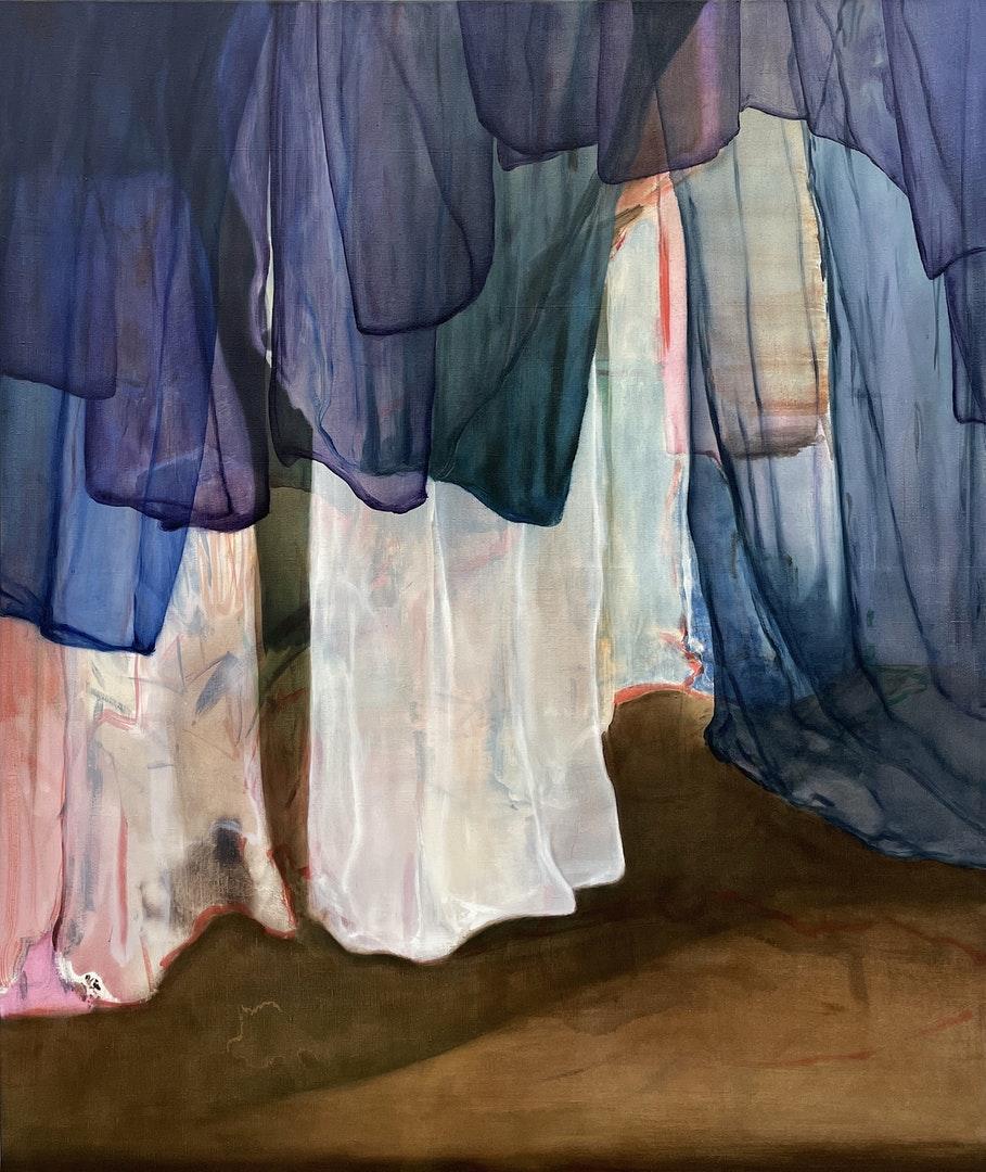 'It's About Time', Jan Valik, Oil on linen, 160 x 135 cm