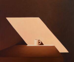 'At Rest', Jill Tate, Oil on canvas, 51 x 61 cm