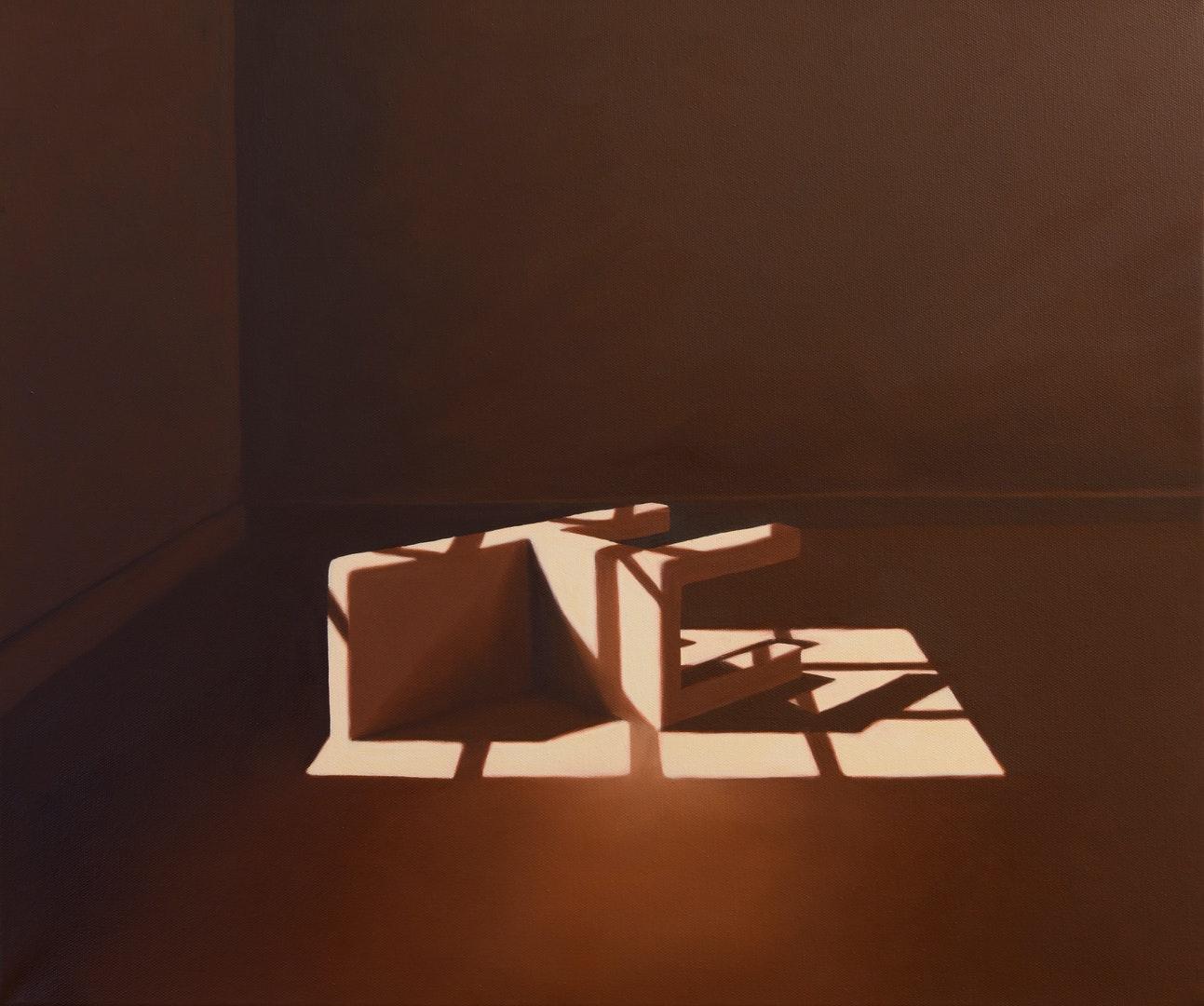 'Incidental', Jill Tate, Oil on canvas, 51 x 61 cm