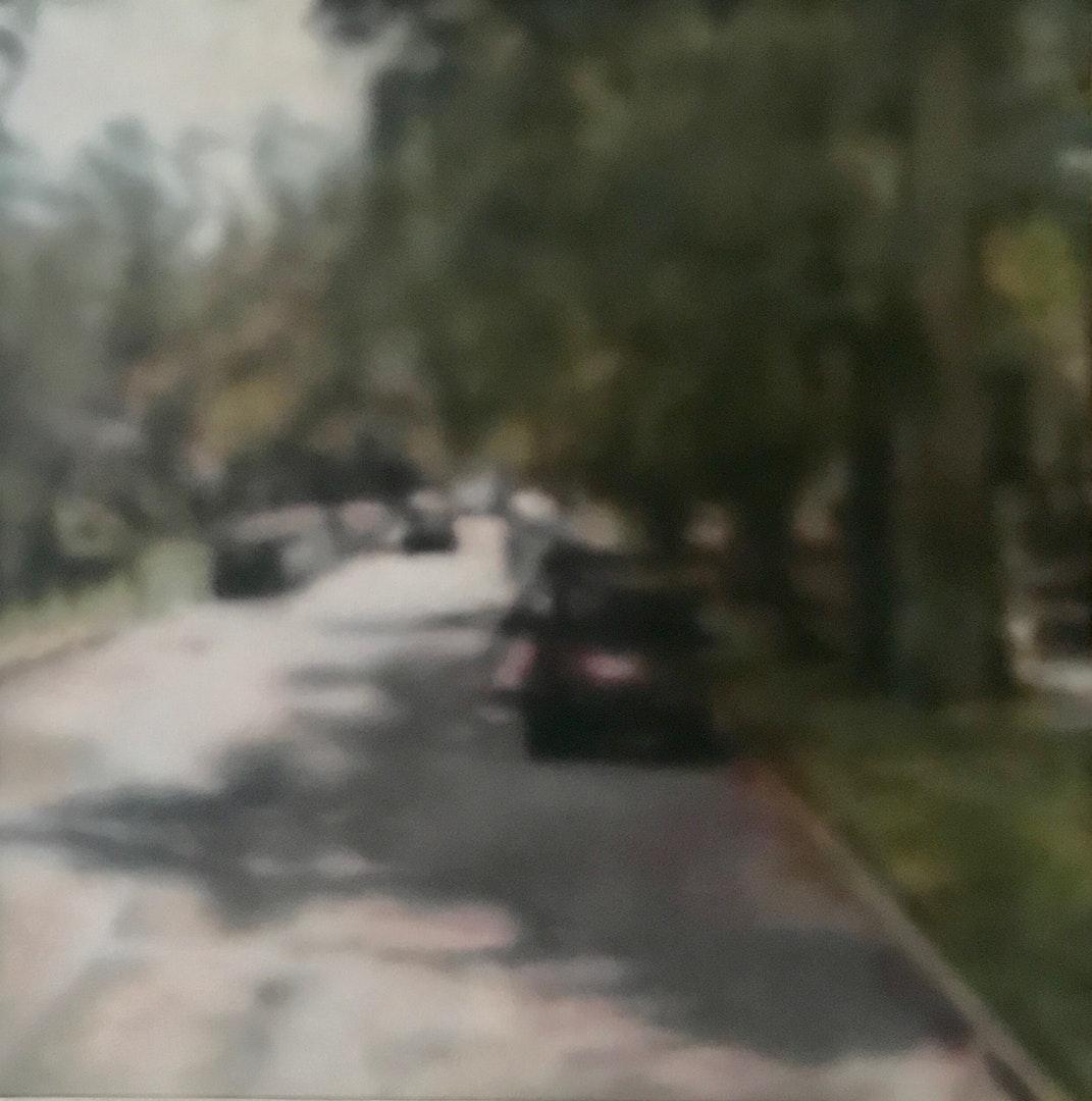 'Untitled 2021', Jo Berry, Acrylic on canvas, 75 x 75 cm