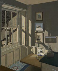 'Hopper's Corner', Joseph Harper, Oil on canvas, 100 x 120 cm