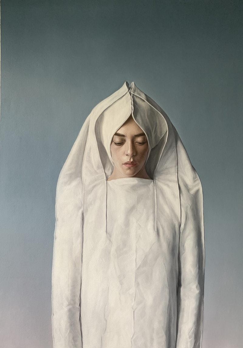 'Chastity', Juan Suarez Rodriguez, Oil on canvas, 127 x 92 cm