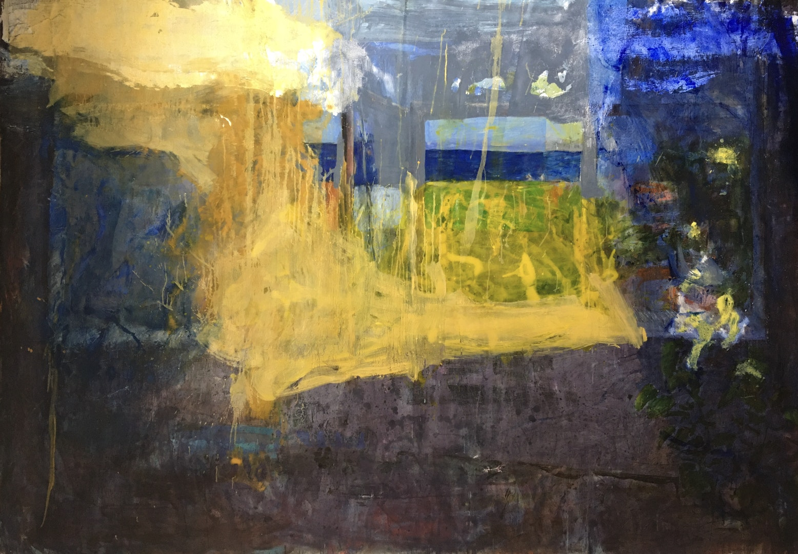 'Serendipity', Luis Lopez del castillo, Oil on canvas, 162 x 283 cm