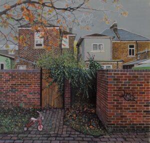 'Interlude', Martin Cox, Egg tempera, 28 x 29 cm
