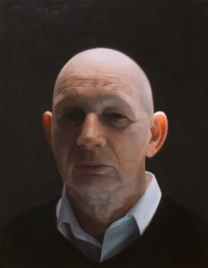 'Patient', Martin Redmond, Oil on linen, 40 x 32 cm
