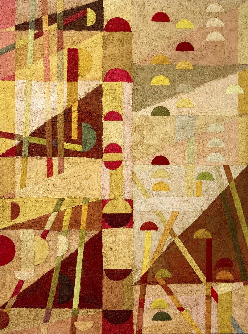 'The Dénia series: Spirit Door', Miguel Sopena, Oil paint, impasto medium and marble dust on canvas, 120 x 90 cm