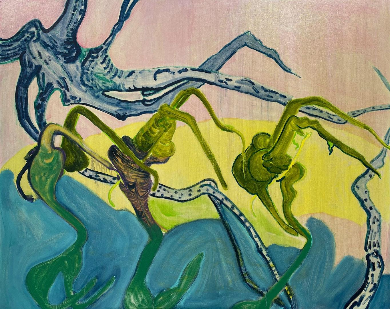 '30 April 2020', Nadja Gabriela Plein, Oil on canvas, 120 x 150 cm