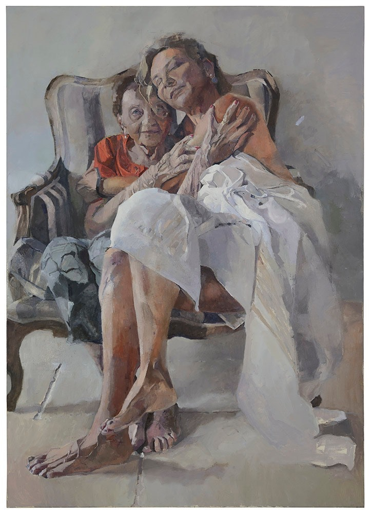 'Enlightenment', Rachel Nenesh, Oil on canvas, 170 x 120 cm