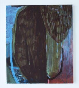 'I cannot find my feet', Rhiannon Inman-Simpson, Oil on canvas, 60 x 70 cm