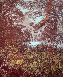 'Forest Portal', Robyn Litchfield, Oil on linen, 81 x 61 cm