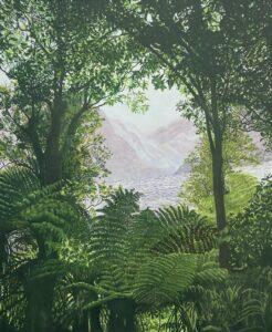 'Tai Poutini', Robyn Litchfield, Oil on linen, 120 x 95 cm