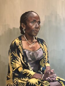 'Yeside', Sally Ward, Oil on linen canvas, 80 x 60 cm