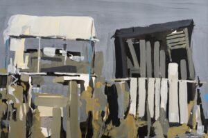 'Longstanding', Sarah Granville, Gouache on paper, 21 x 31 cm