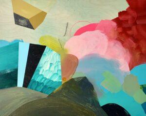 'Fanny Hesse', Shannon Pawliw, Acrylic on wood panel, 76.2 x 60.96 cm