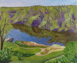 'Canyon', Sinusik Volodymyr, Oil on linen, 45 x 55 cm