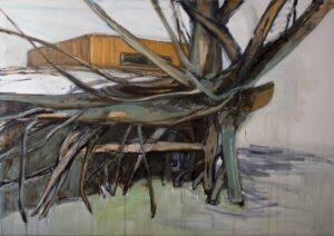 'The Motherland 2', Steph Goodger, Oil on canvas, 150 x 220 cm