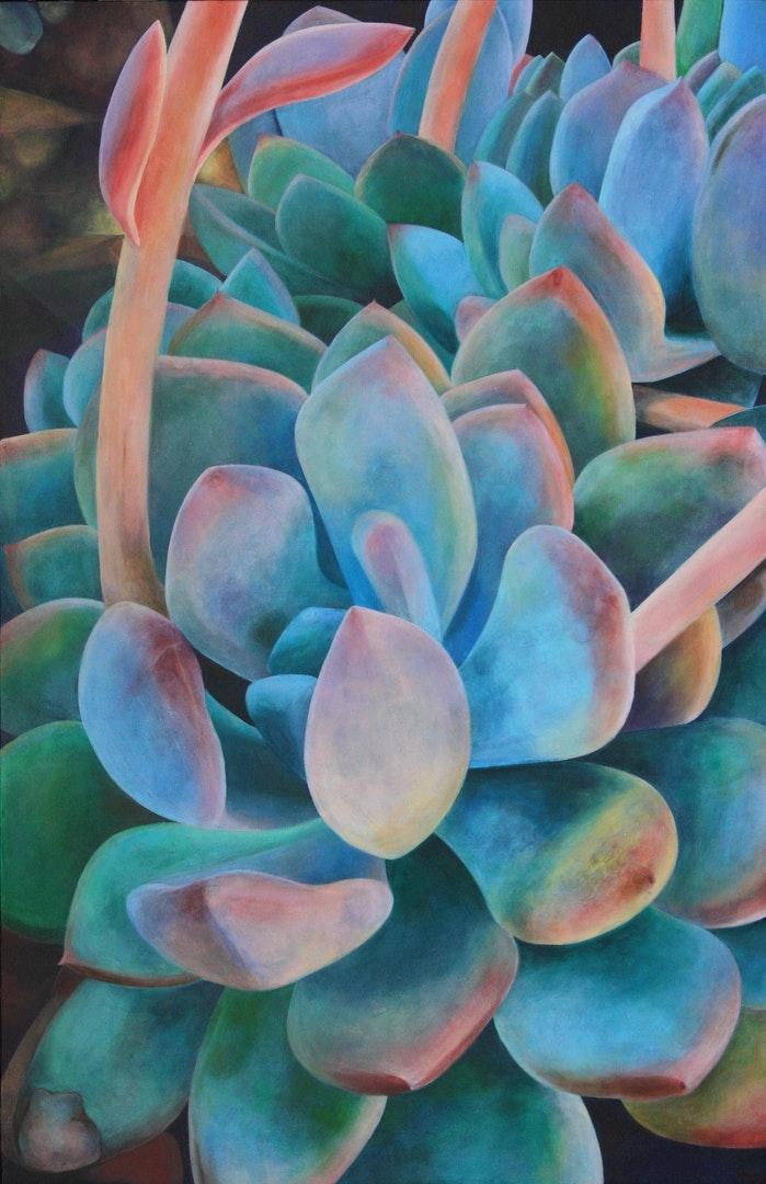 'Valour 1982', Tara Esperanza, Acrylic on canvas, 54 x 35 cm